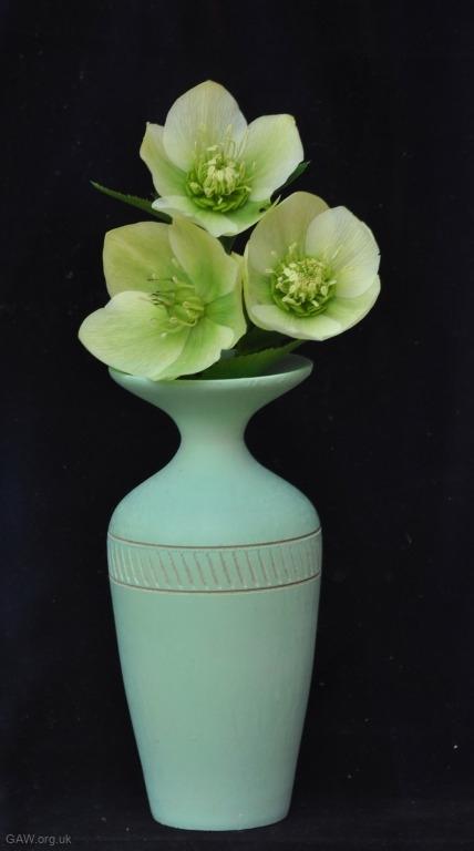 Turquoise-bud-vase