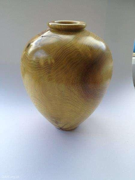 Mulberry vessel 30cm high x 15cm dia by Keith Fenton