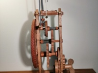 Clock side view
