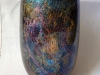Small vase  by Barry Scorer.