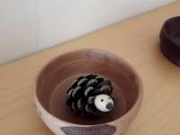 John Palmer - Bowl with a pine hedgehog