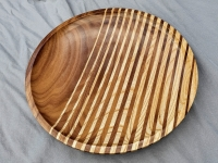 Les Cooper - Walnut and ash platter