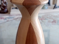 Tea light multi wood turning by Bob Holder